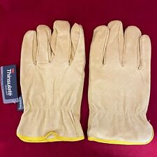Set Of Premium 3m Thinsulate Industrial Leather Work Gloves 100 Gram 2x Large