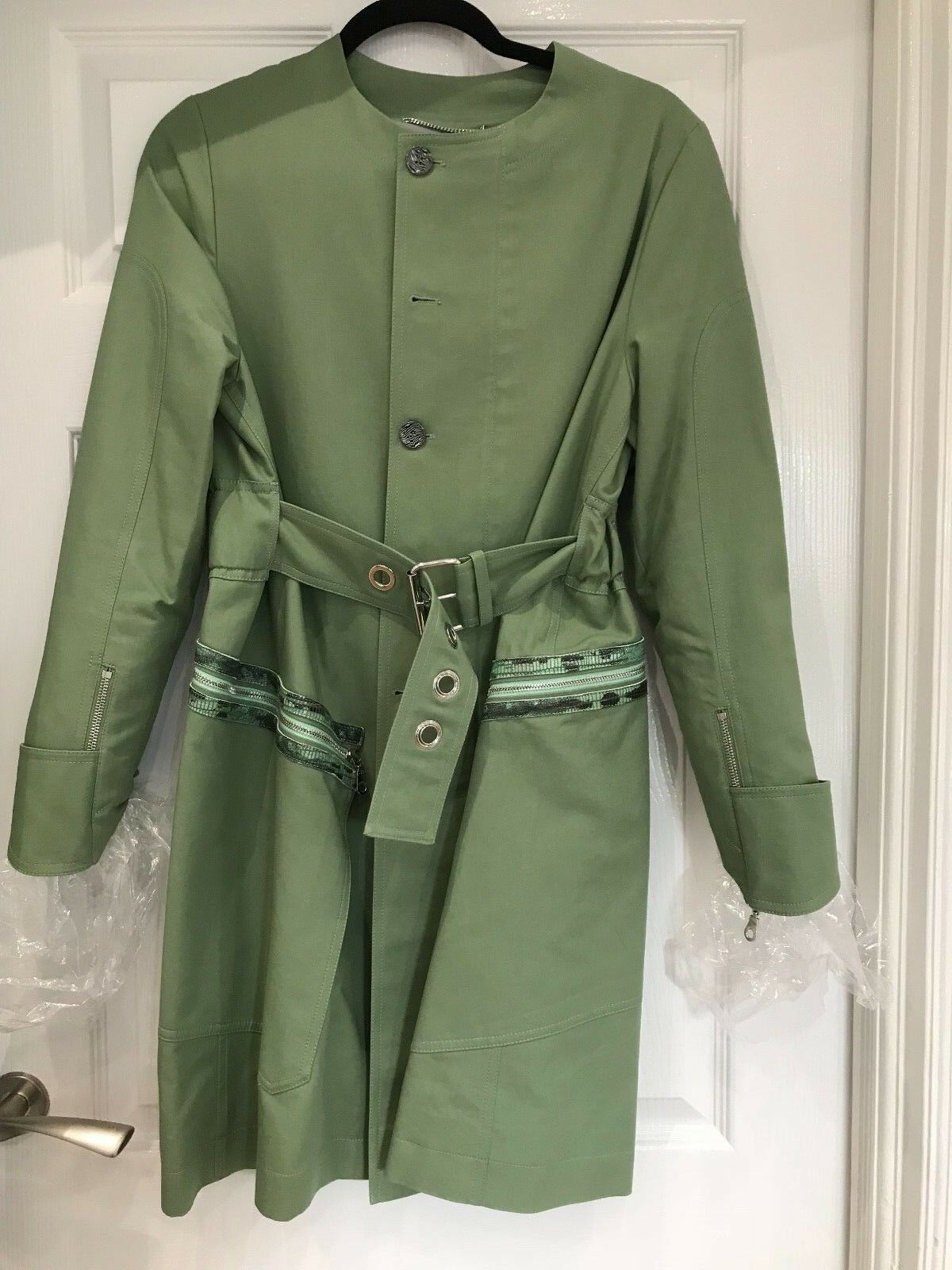 Kenzo -regnrock med bälte, storlek 38FR, köpt Paris