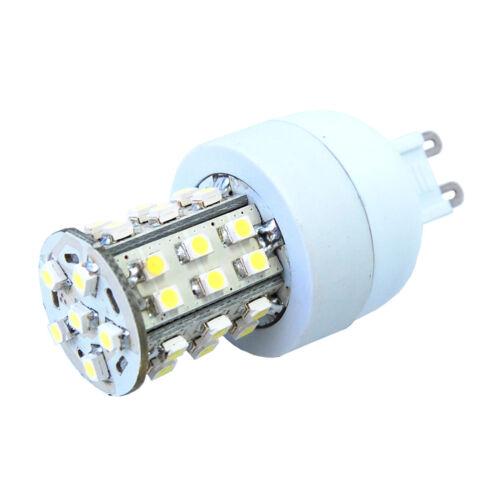 HQRP 100-240V AC 2.3W G9 Base 36 LEDs SMD3528 Cool White 6000-7000K LED Bulb
