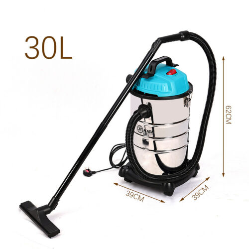 Electric Wet and Dry Industrial Vacuum Cleaner 20//30//50//80L Large Steel Tank UK