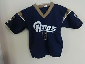 Details zu Vintage Franklin St. Louis Rams Replica Football Jersey Youth Small