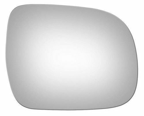 Passenger Side View Drop Fit OE Mirror Glass Lens F51065 Fits Toyota