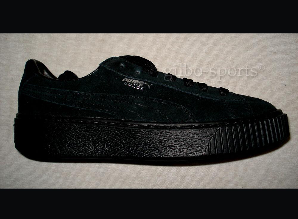 Puma Suede Platform FL JR Black Silver 35 35,5 37 37,5 38 38,5 365698 01 Rihanna