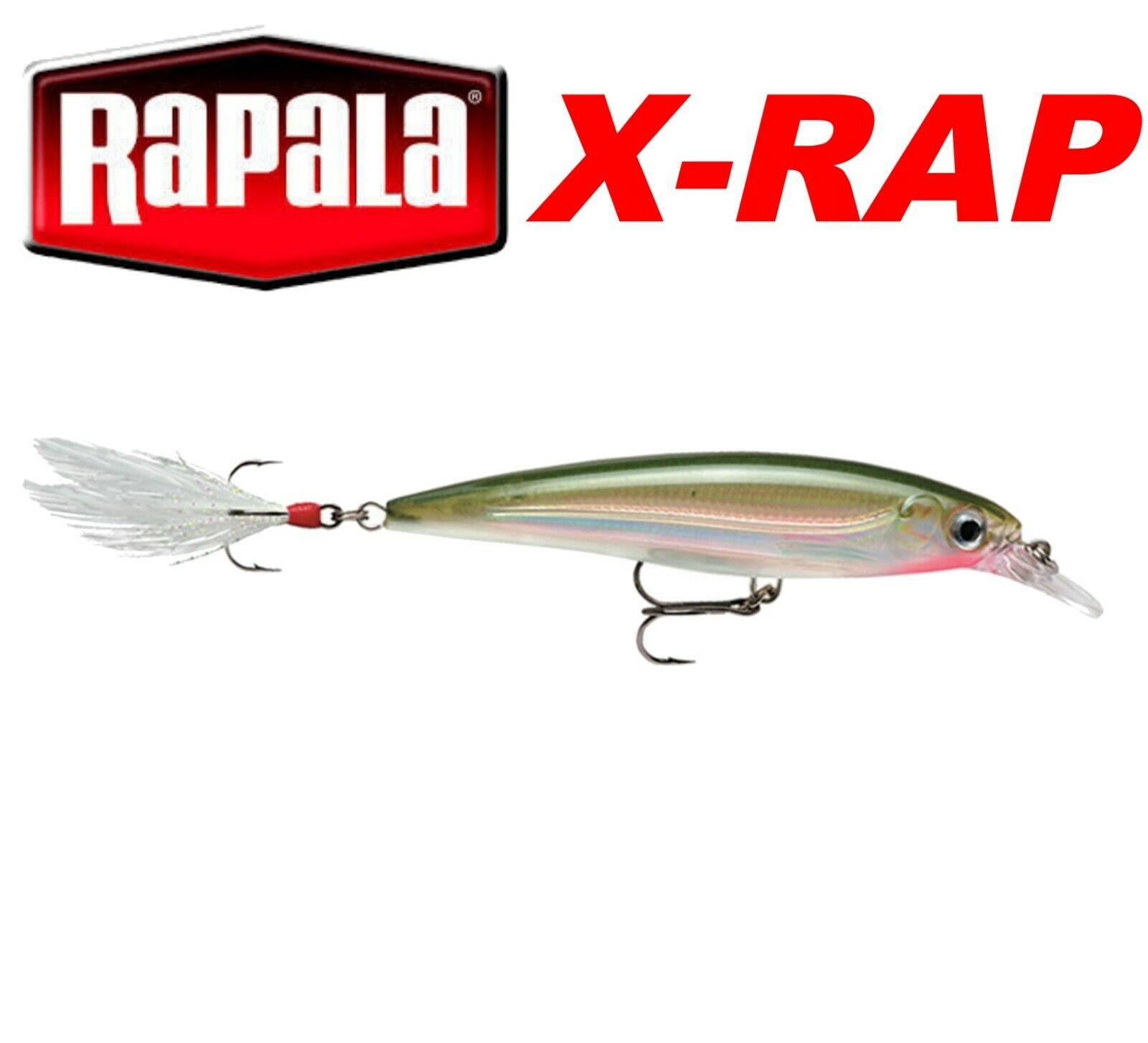 Rapala X-RAP Fishing Lures 8cm 10cm Predator Fishing Tackle Sea Pike Bass Perch
