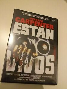 Dvd-Estan-vivos-de-john-carpenter-precintado-nuevo