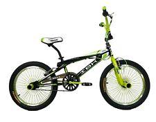 "IBK Bici Bicicletta BMX Freestyle Professional Bike 20"" 68 Raggi Sterzo 360°"