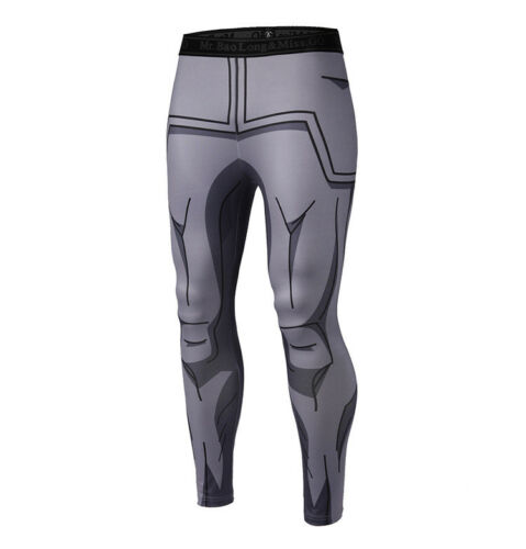 Men Women Sports Pants Anime Dragon Ball Z Leggings Running Gym Stretch Trousers