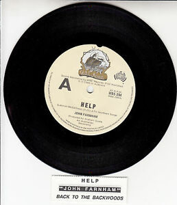 JOHN-FARNHAM-Help-7-45-rpm-vinyl-record-juke-box-title-strip