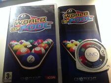 world of pool sony psp biliardo game gioco ITA
