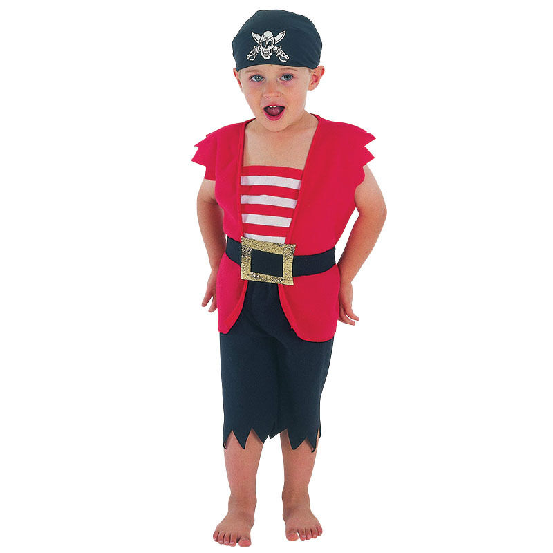 Pirates of the Caribbean - Child Pirate Boy Toddler Outfit Costume