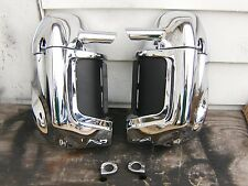 harley bagger touring lower fairing chrome custom set pair no reserve low buy fl