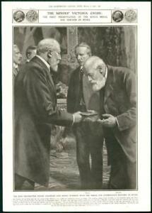 1908-Antique-Print-LONDON-Victoria-Cross-Frank-Chandler-Henry-Everson-269