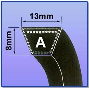 A-SECTION-V-BELT-SIZES-A77-A100-V-BELT-13MM-X-8MM