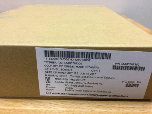 Toshiba P//N 3AA00797300 TCx single 2x20 Display