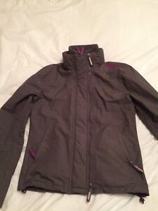 SUPERDRY-PROFESSIONAL-034-THE-WINDCHEATER-034-JACKET-COAT-GREY-AND-PURPLE-MEDIUM