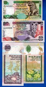 10   RUPEES  2005 P 115d   Uncirculated Banknotes SRI  LANKA