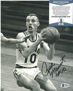 Rick Mount Signed Auto 8x10 Photo Autograph Beckett BAS COA Purdue Basketball