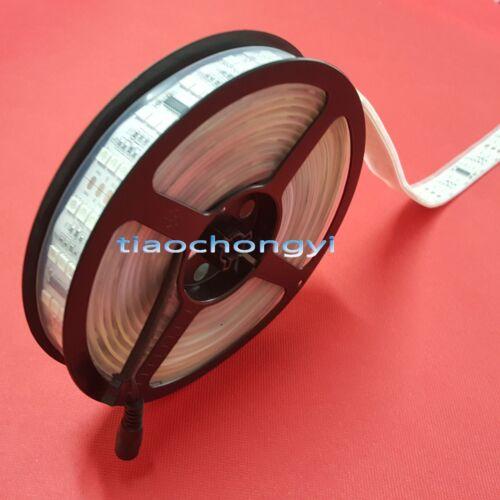 Triple Row RGBW DC12V 144LED//M 1812 5050 RGB LED Strip 5M 720SMD Waterproof IP67