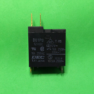 1Pcs New DEC DH1U 16A 12VDC Relay 16A 250VAC
