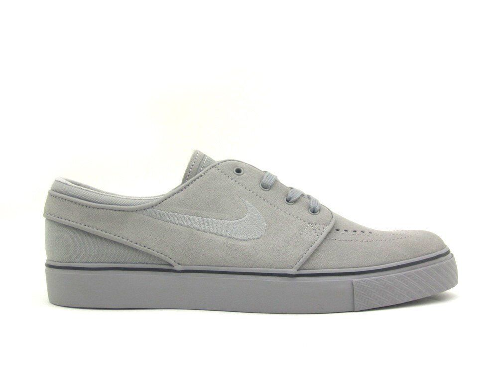 Nike ZOOM STEFAN JANOSKI Medium Grey Black Skate Discounted (323) Men's Shoes