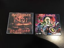 Lot 2 Cd Iron Maiden Ecatombe Out Of The Silent Planet