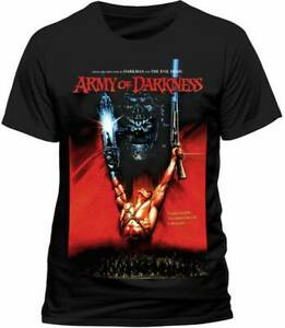 Army-Of-Darkness-Movie-Poster-T-Shirt-OFFICIAL-Ash-Evil-Dead-Horror-Classic-NEW
