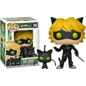 Miraculous-Tales-of-Ladybug-amp-Cat-Noir-Cat-Noir-with-Plagg-Pop-Vinyl-Figure