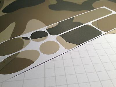 3M Scotch DIGITAL Camo Vinyl Cycle cable rub frame protector patches BMX DH MTB