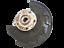 miniature 1 - Fusee-d-039-essieu-Moyeu-de-roue-avec-fonction-feux-ABS-GA-AV-pour-Golf-7-VII-AU