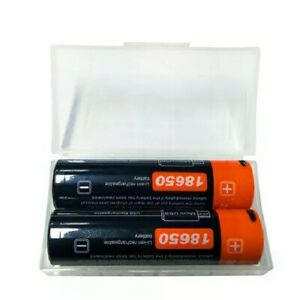 5 New micro USB Charging 3.7V 2600mAh Rechargeable 18650 li-ion battery (5pairs)