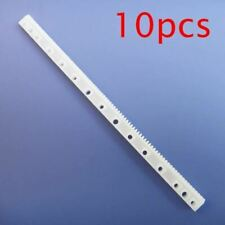 10pcs Plastic Transmission Rack Plastic Rod With Tooth Straight Gear 05m 4712