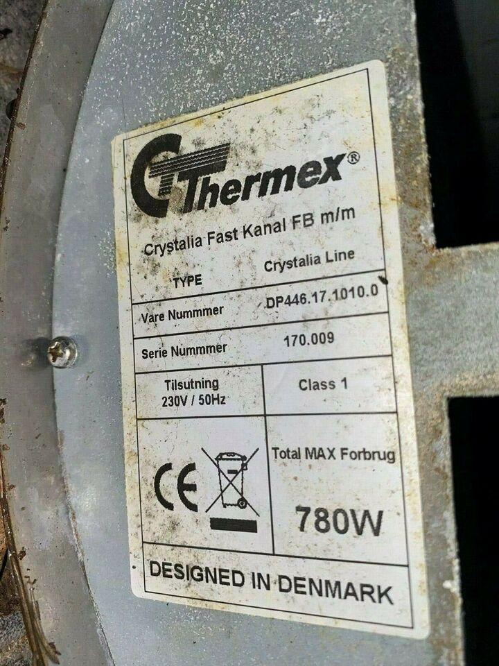 Emhætte, Thermex Crystalia Line, b: 90 d: 60
