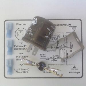 CEC EF 33 12 v electronic LED flasher 3 prong w/instruct, cket ...  Prong Led Flasher Wiring Diagram on 3 prong turn signal circuit, 3 prong plug wiring colors, 3 prong headlight wiring, 3 prong lighted switch, 3 prong on off switch, 3 prong plug pinout,