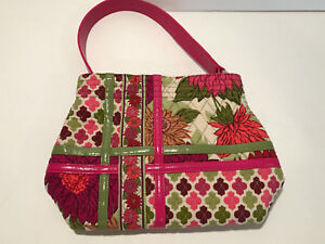 Vera-bradley-purse-faux-leather-medium-pink
