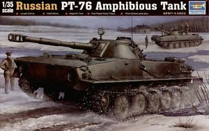 Trumpeter-1-35-PT-76-Amphibious-Tank-00380-380-New-Sealed