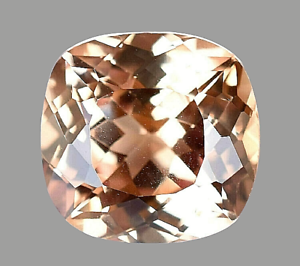 Flawless 5.45 Ct Natural Padparadscha Sapphire Stunning Certified Cushion Gem