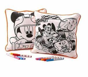 Disney-Paw-Patrol-Mickey-Minnie-Avengers-2-Pack-Color-Me-Oreiller-plus-10-marqueurs