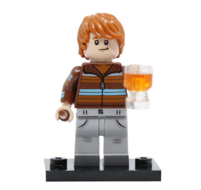 LEGO 71028 - Ron Weasley - Minifigures n° 4 SERIE Harry Potter 2