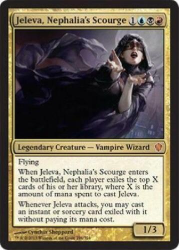 Nephalia/'s Scourge played Commander 2013 MTG 2B3 Jeleva