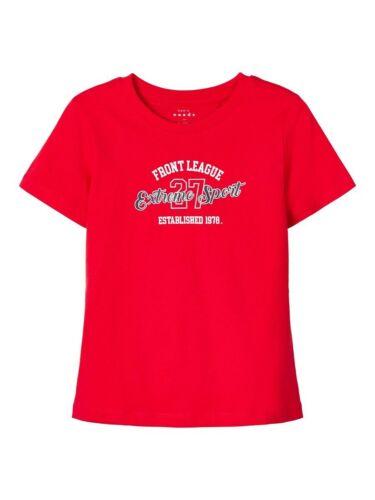NAME IT Jungen T-shirt NKMVagno rot Extreme Sport Größe 122//128 bis 158//164