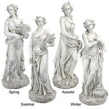 Statues of Women Greek Female Woman Goddess Horae Statue Garden Sculpture Decor