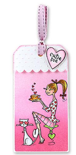 Valentine OOH La La Clear Unmounted Rubber Stamp Set PENNY BLACK 30-210 New