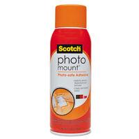 Scotch Photo Mount Spray Adhesive 10.25 Oz Aerosol 6094