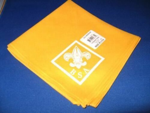 BOY SCOUT BSA OFFICIAL UNIFORM VARIOUS COLORS NECKERCHIEF MADE IN USA MENS GIFT