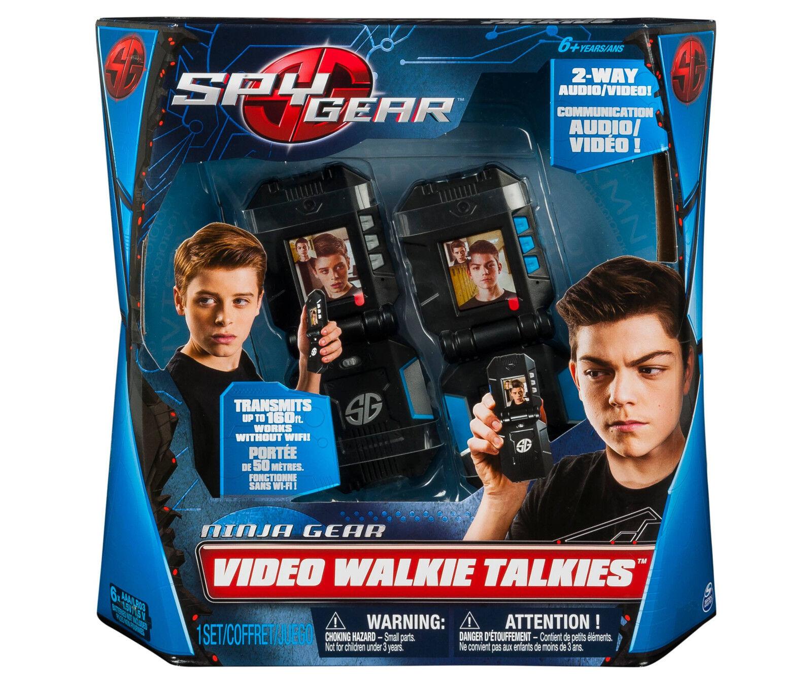 Spionage - ausrüstung - video walkie - talkies mit 2 - wege - audio - und video - (beschleunigte versand)