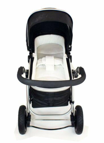 iSafe Luxury Bedding Suitable for ickle bubba Stomp V2 Black 2-in-1 Pushchair B