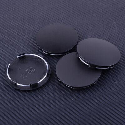 4pcs Car ABS Silver 62mm 57.5mm Wheel Rim Center Hub Cap Cover fit for All car