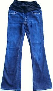 Citizens of Humanity Kelly Boot Cut Dark Blue Denim Maternity Jeans Sz 27