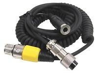 Heil Sound Ch-1y8 Mic Adapter Coiled Cable: Yaesu 8-pin Round To 4-pin Xlr