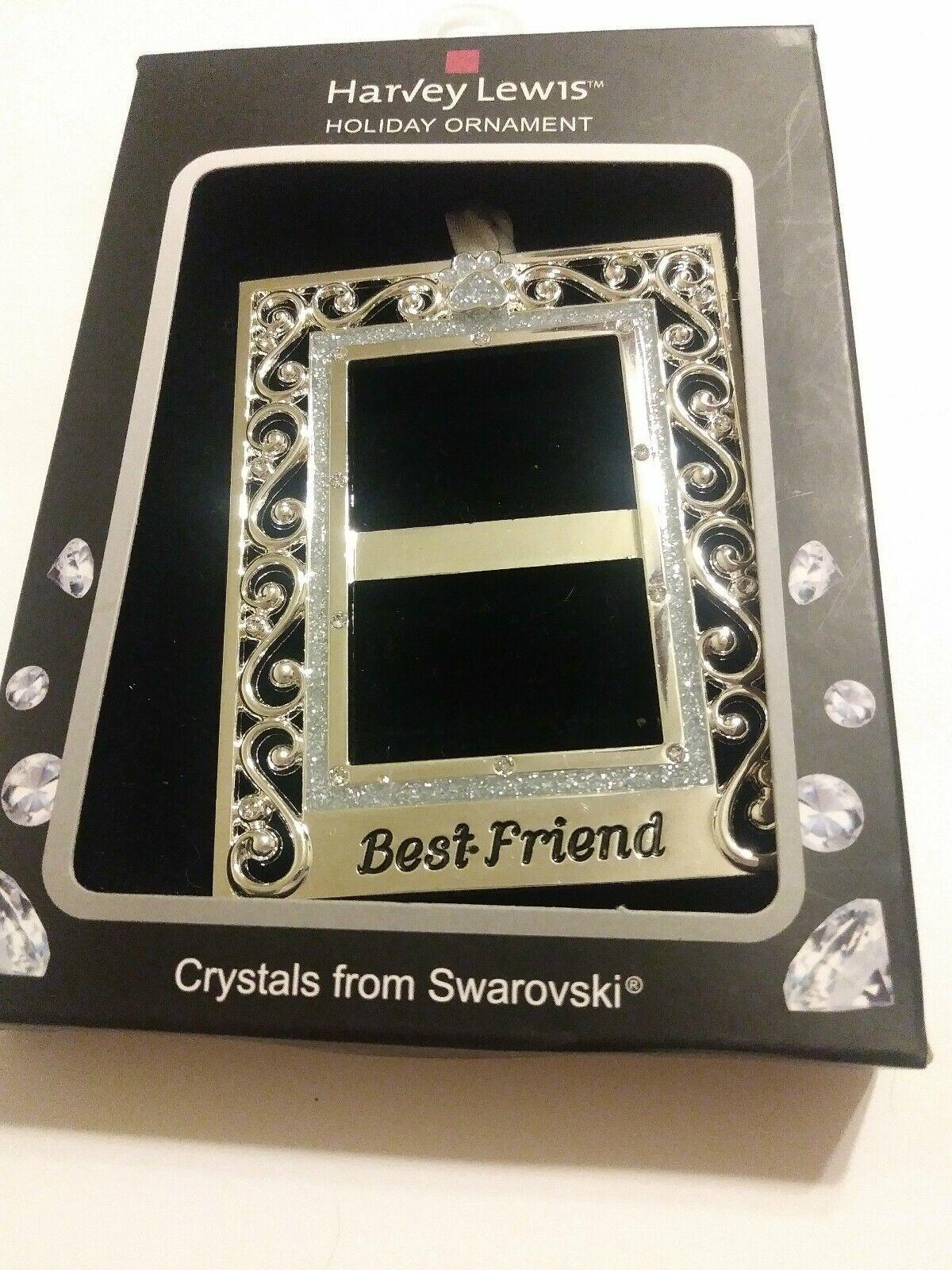 Best Friend Pet Photo Frame Ornament Dog/Cat Harvey Lewis w